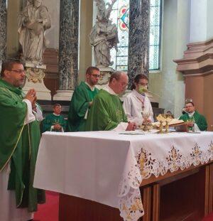 Jubileusz 60. rocznicy święceń kapłańskich O. Szymona Chapińskiego